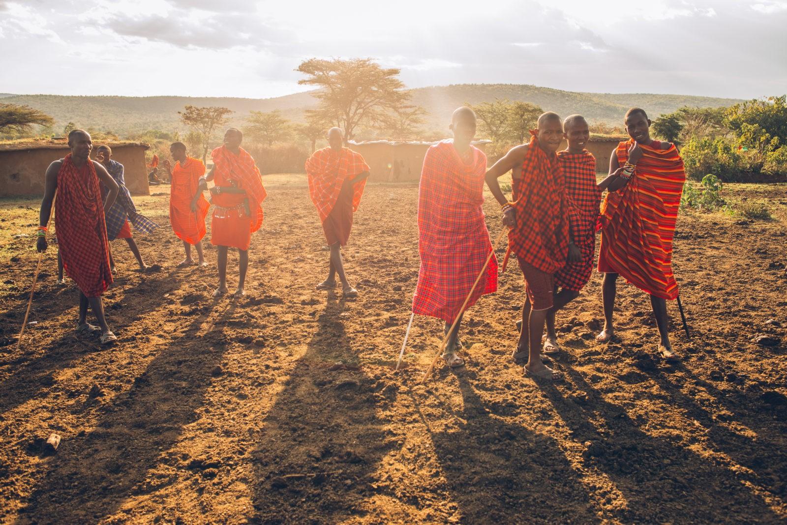 masai people kenya maasai mara